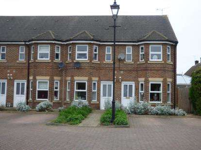 3 Bedrooms Terraced House for sale in Adaern Close, Leighton Buzzard, Bedfordshire