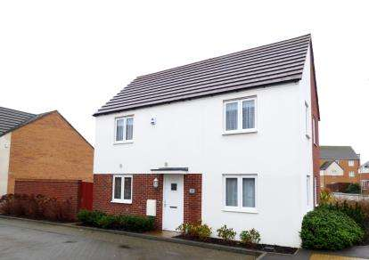 3 Bedrooms Semi Detached House for sale in Loughborough Drive, Broughton, Milton Keynes, Na