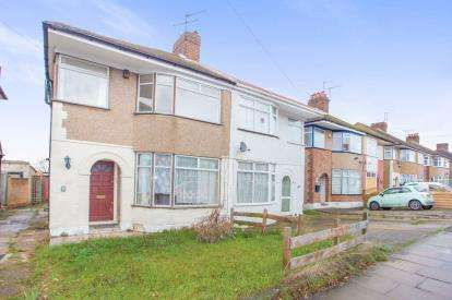 3 Bedrooms Semi Detached House for sale in The Heights, Northolt