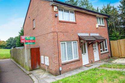 2 Bedrooms Semi Detached House for sale in Kingfisher Close, St.Mellons, Cardiff, Wales