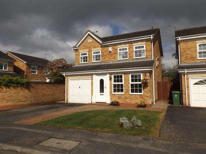 4 Bedrooms Detached House for sale in Benskyn Close, Countesthorpe, Leicester, Leicestershire