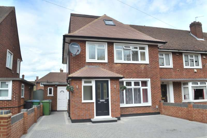 4 Bedrooms End Of Terrace House for sale in Leggatts Rise, Watford