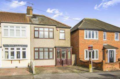 3 Bedrooms End Of Terrace House for sale in South Hornchurch