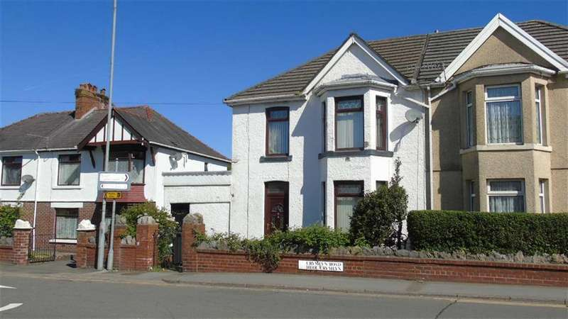 3 Bedrooms Semi Detached House for sale in Crymlyn Road, Neath, SA10
