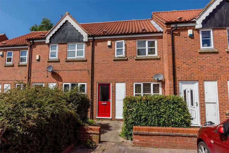 2 Bedrooms Terraced House for sale in Foss Court, Huntington Road, YORK