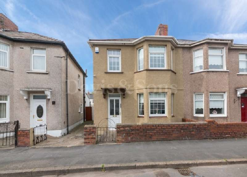 3 Bedrooms Semi Detached House for sale in Cromwell Road, Lliswerry, Newport. NP19 0FY