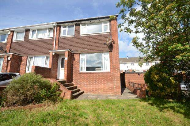 3 Bedrooms End Of Terrace House for sale in Addison Close, Exeter, Devon