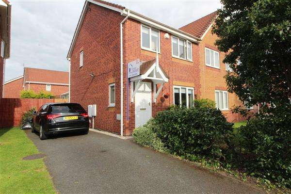 3 Bedrooms Semi Detached House for sale in Horseshoe Drive, Fazakerley