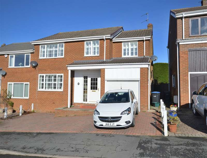 4 Bedrooms Semi Detached House for sale in Brookside, Durham