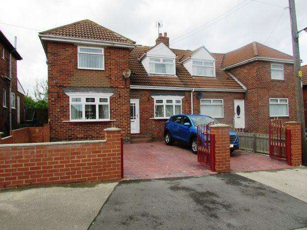 3 Bedrooms Semi Detached House for sale in TOFT CRESCENT, MURTON, SEAHAM DISTRICT