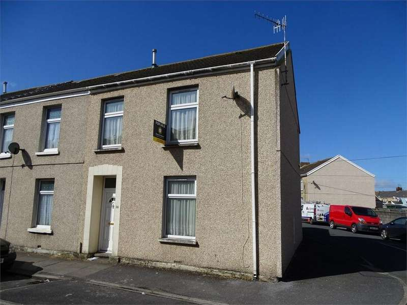 3 Bedrooms End Of Terrace House for sale in 38 Ropewalk Road, Llanelli, Carmarthenshire