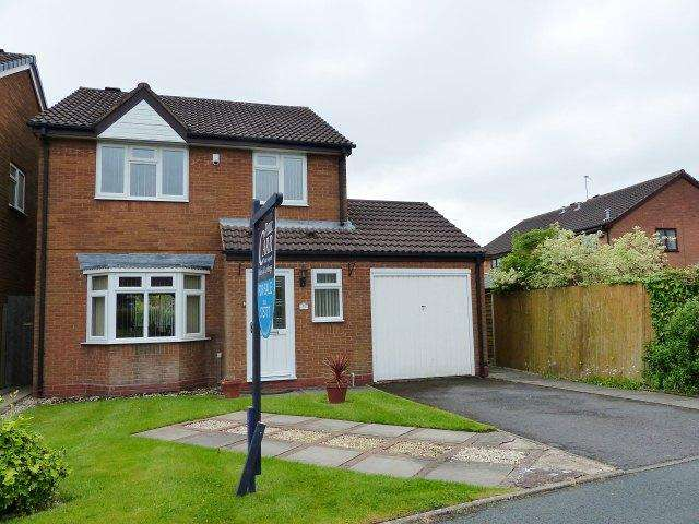 3 Bedrooms Detached House for sale in Blithfield Road,Brownhills,Walsall