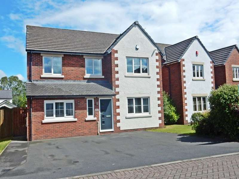 4 Bedrooms Detached House for sale in Haycock Lane, The Beeches, Carlisle