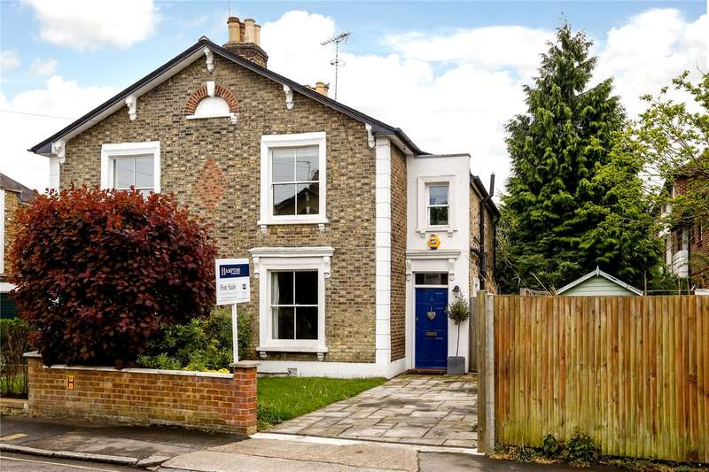 3 Bedrooms Semi Detached House for sale in Townshend Terrace, Richmond, TW9