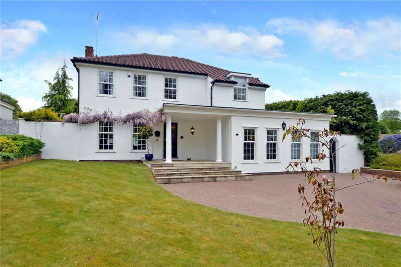 4 Bedrooms Detached House for sale in Talisman Way, Epsom, Surrey, KT17