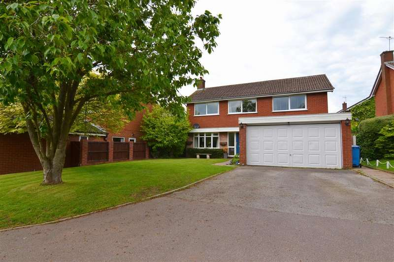 4 Bedrooms Detached House for sale in Cooks Bank, Stafford