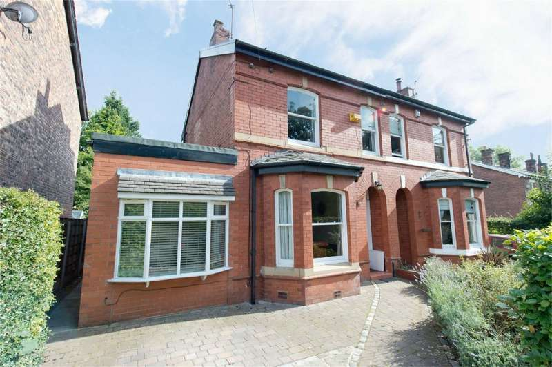3 Bedrooms Semi Detached House for sale in Hazelhurst Road, Worsley, Manchester