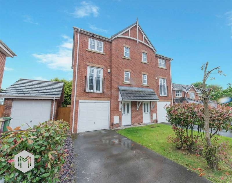 4 Bedrooms Town House for sale in Fearney Side, Little Lever, Bolton, Lancashire