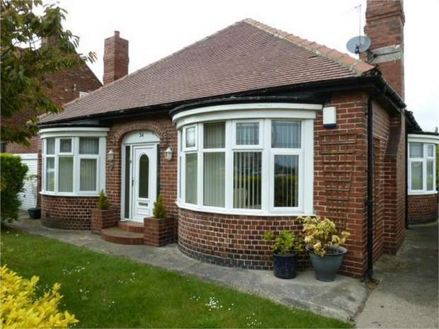3 Bedrooms Detached Bungalow for sale in Maureen Terrace, Seaham, Durham