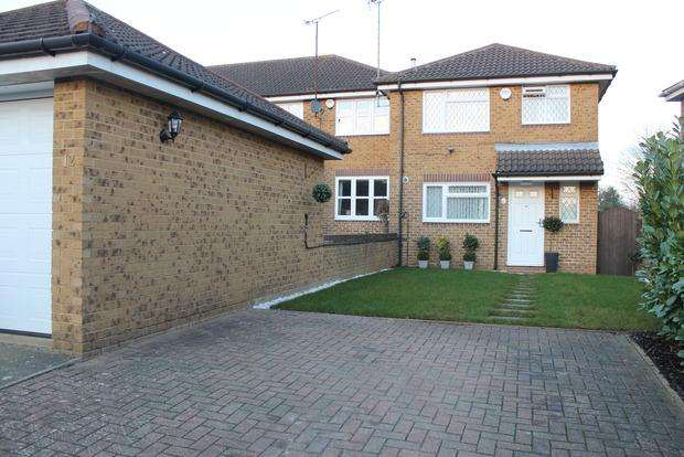 3 Bedrooms End Of Terrace House for sale in Whitwell Close, Luton, LU3