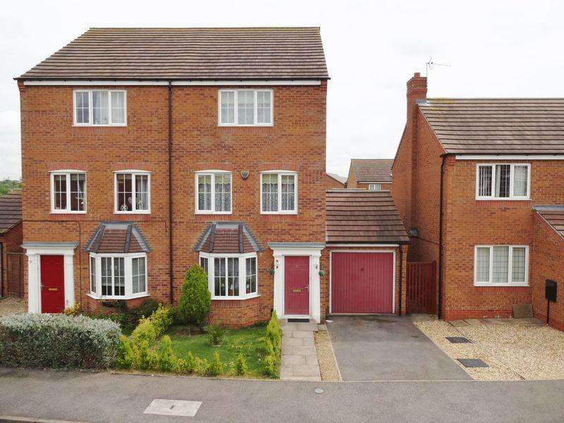 4 Bedrooms Semi Detached House for sale in Nash Close, Corby
