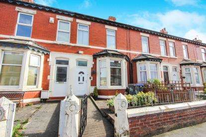 3 Bedrooms Terraced House for sale in Hawthorn Road, Blackpool, Lancashire, England, FY1