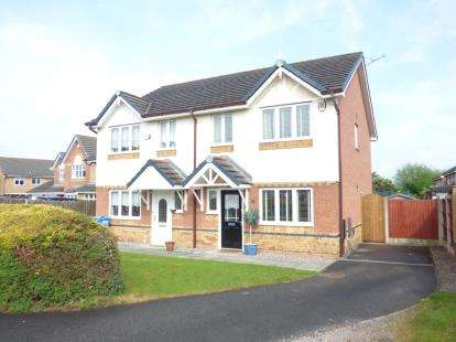 3 Bedrooms Semi Detached House for sale in Bermondsey Grove, Widnes, Cheshire, WA8
