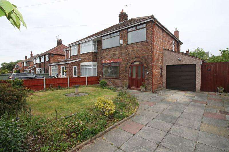 3 Bedrooms Semi Detached House for sale in Wirral Way, Prenton