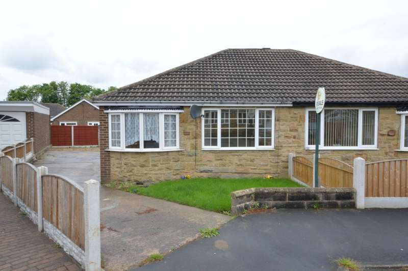 2 Bedrooms Semi Detached Bungalow for sale in Grove Park, Calder Grove, Wakefield