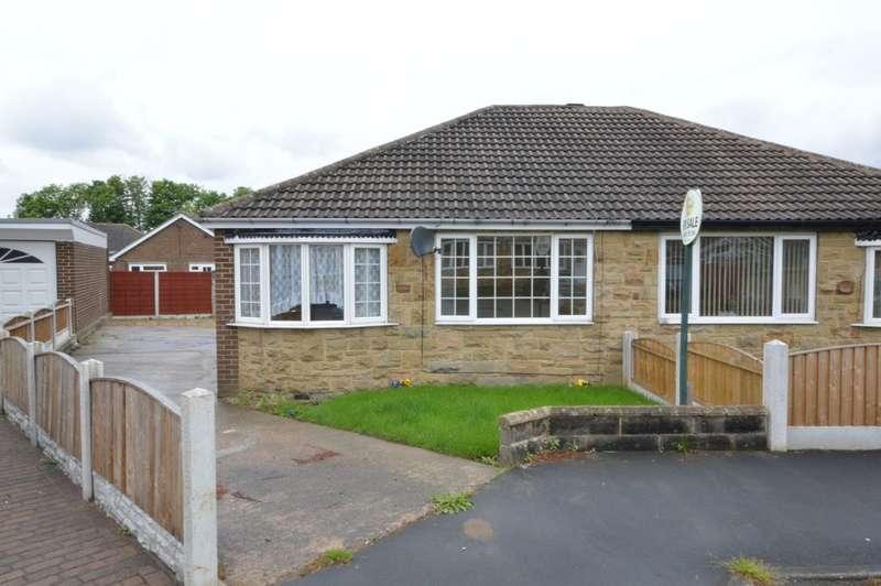 2 Bedrooms Semi Detached Bungalow for sale in Grove Park, Calder Grove, Wakefield
