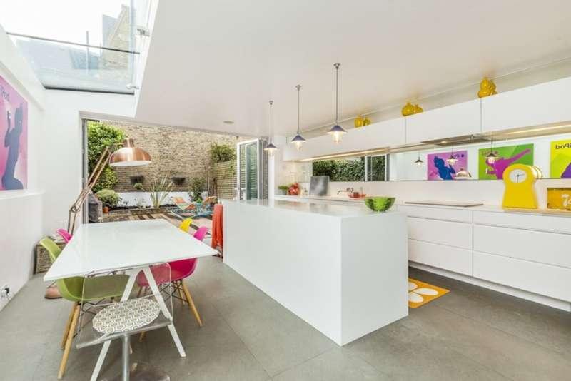 4 Bedrooms Terraced House for sale in Leathwaite Road, Battersea, London