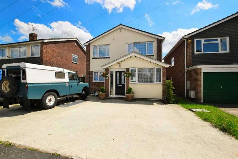 4 Bedrooms Detached House for sale in Bramley Way, Mayland