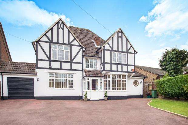 4 Bedrooms Detached House for sale in Cheam, Sutton
