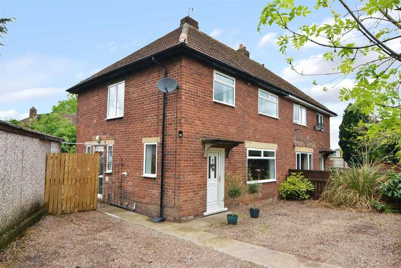 3 Bedrooms Semi Detached House for sale in Prestwick Close, Otley