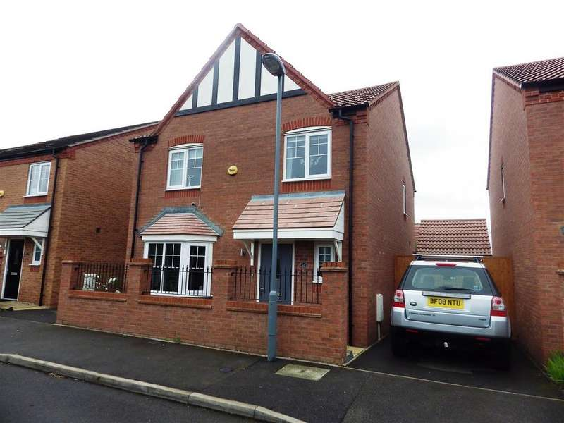 4 Bedrooms Detached House for sale in Bartley Crescent, Northfield