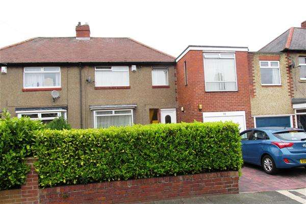 4 Bedrooms Semi Detached House for sale in Northcote Avenue, Newcastle upon Tyne