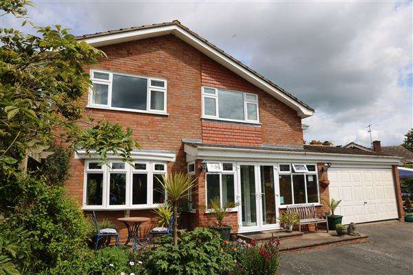 4 Bedrooms Detached House for sale in Kings Caple, Kings Caple, Herefordshire