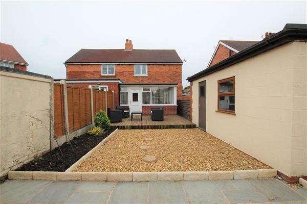 2 Bedrooms Semi Detached House for sale in Chatsworth Road, Walton le Dale, Preston
