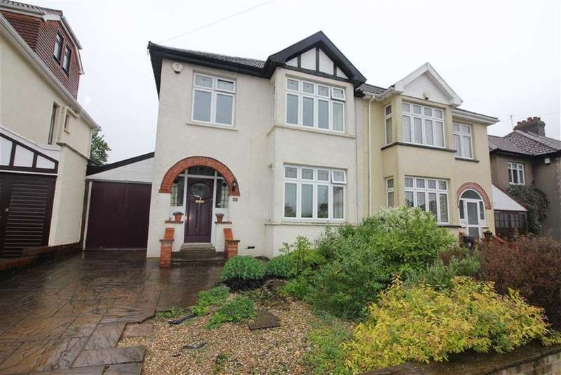 3 Bedrooms Semi Detached House for sale in Laurie Crescent, Henleaze, Bristol