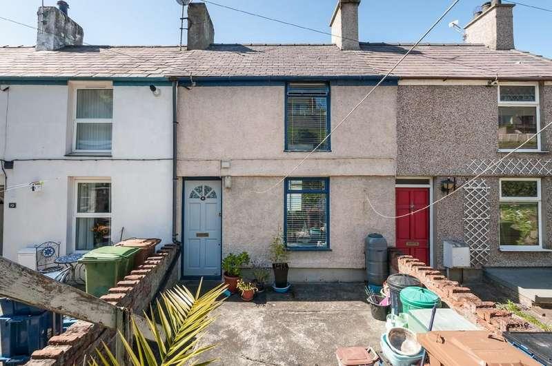 2 Bedrooms Terraced House for sale in Y Felinheli, Gwynedd, North Wales