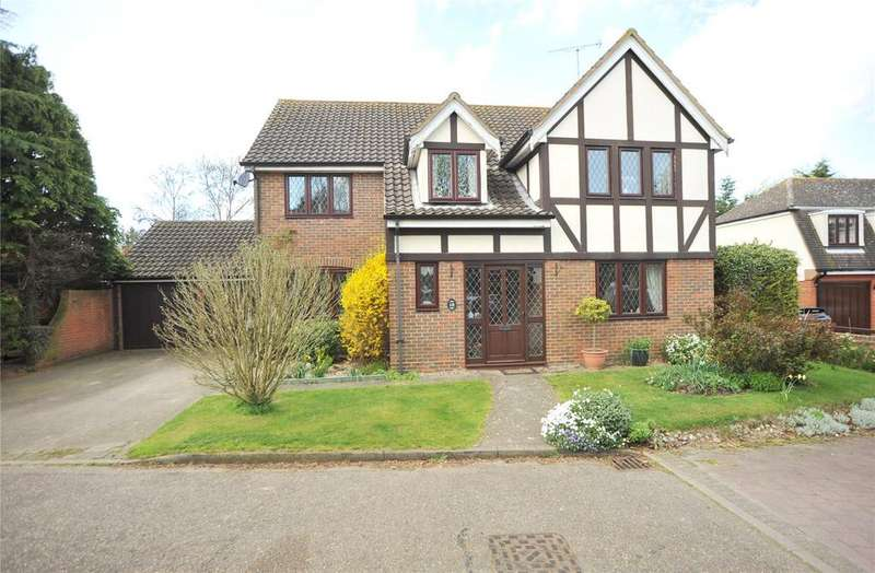 5 Bedrooms Detached House for sale in Warwick Place, Pilgrims Hatch, Brentwood, Essex, CM14