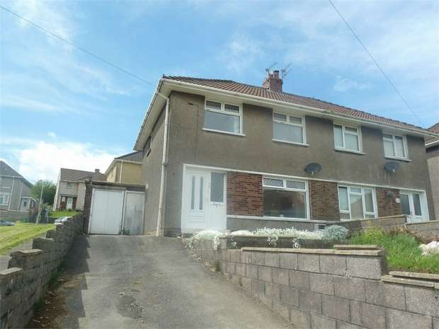 3 Bedrooms Semi Detached House for sale in Coronation Road, Llangynwyd, Maesteg, Mid Glamorgan