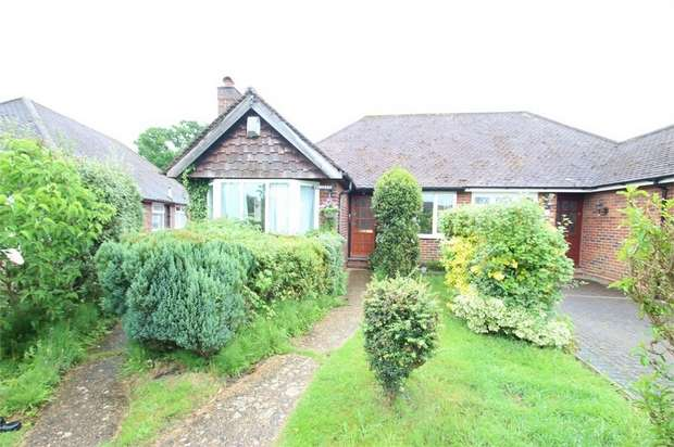 3 Bedrooms Semi Detached Bungalow for sale in Saffron Platt, GUILDFORD, Surrey