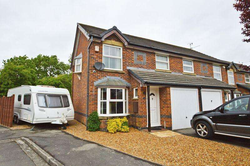 3 Bedrooms Semi Detached House for sale in Peaceful cul de sac within walking distance of Yatton train station