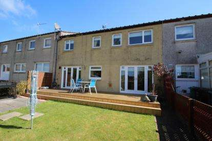 3 Bedrooms Terraced House for sale in Rannoch Drive, Cumbernauld