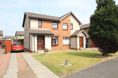 3 Bedrooms Semi Detached House for sale in Lauranne Place, Bellshill