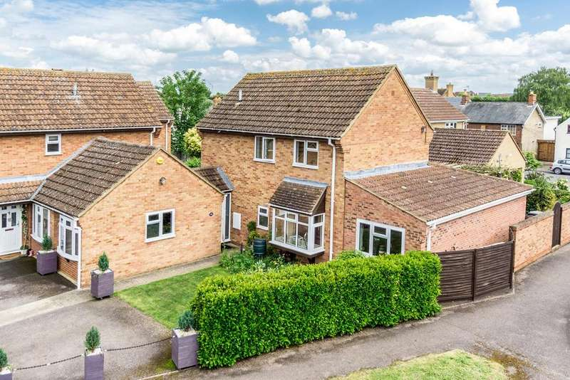 4 Bedrooms Link Detached House for sale in Ivel Close, LANGFORD, SG18