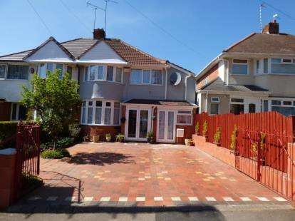 4 Bedrooms Semi Detached House for sale in Yarningale Road, Birmingham, West Midlands