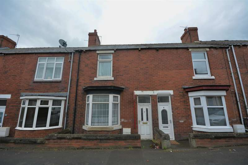 2 Bedrooms Terraced House for sale in Farncombe Terrace, Evenwood, Bishop Auckland, DL14 9QW