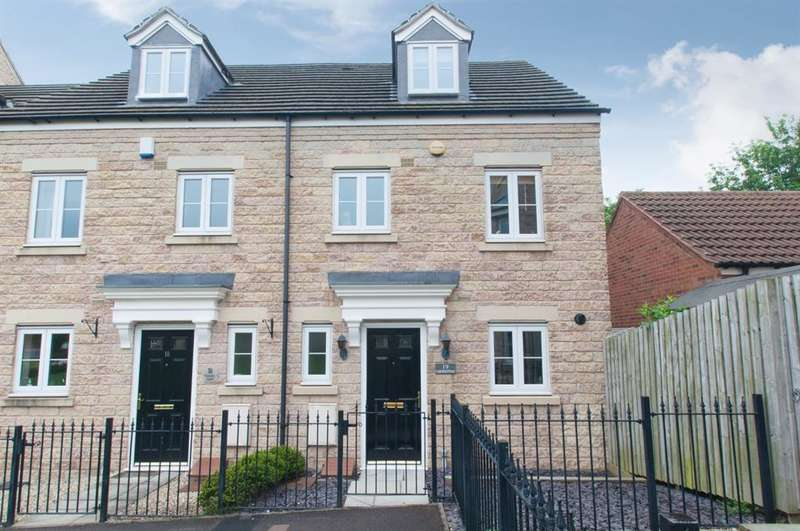 3 Bedrooms Town House for sale in Georgian Square, Rodley, LS13
